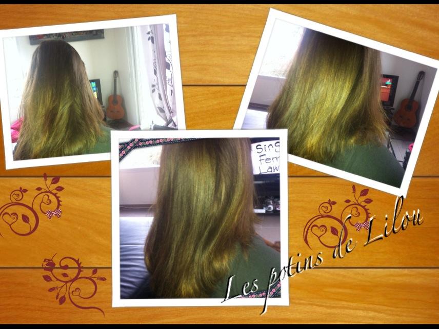 Masque naturel pour cheveux apres shampooing